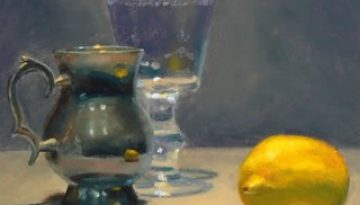 silver_drinking_cup_wineglass_lemon