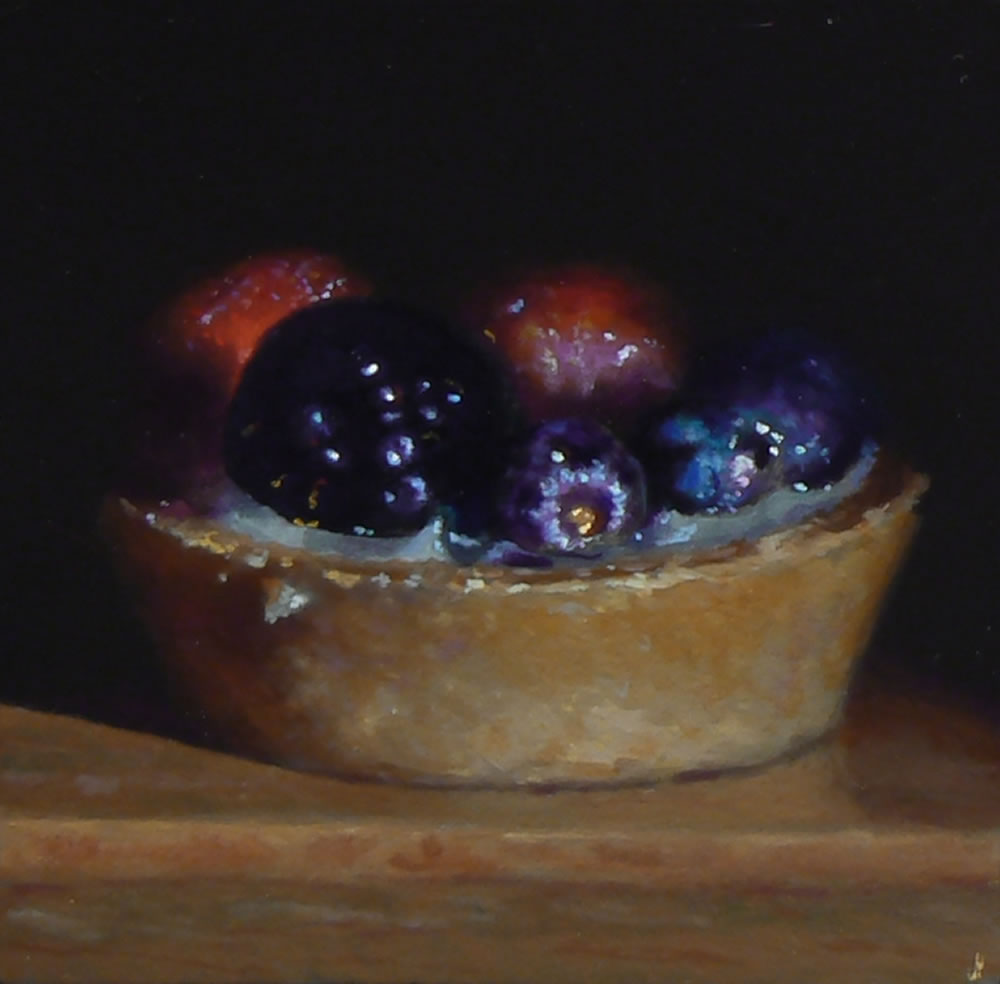 Oil Painting: Fruit Tart No. 1