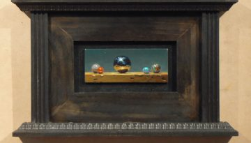 Oil Painting: Forum No. 15 (marbles)