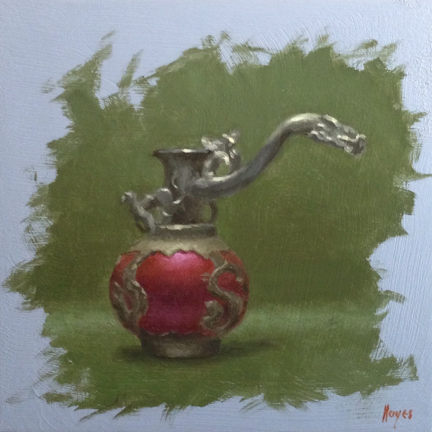 Jeffrey Hayes: Still Life Painting: Oil Painting: Dragons