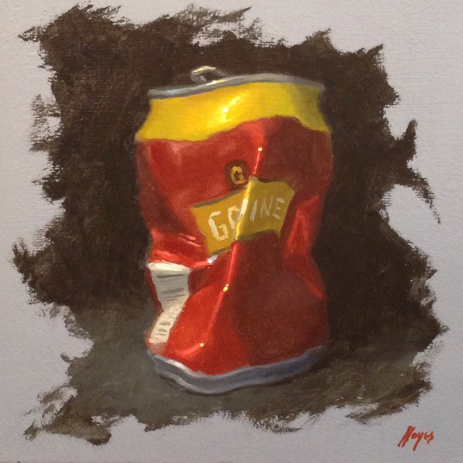 Jeffrey Hayes: Still Life Painting: Oil Painting: Crush It!