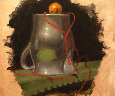 Jeffrey Hayes: Still Life Painting: Oil Painting: Escape Plan