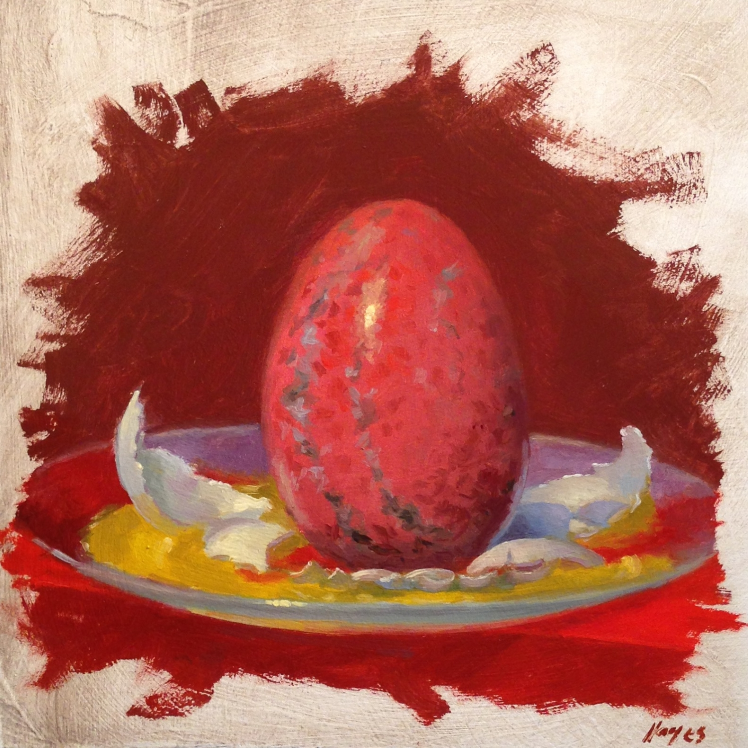 Jeffrey Hayes: Still Life Paintings: Oil Painting: Seven Deadly Sins: Wrath
