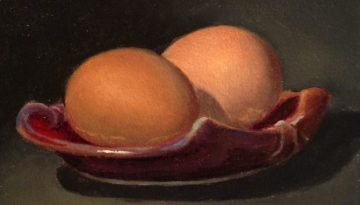 Jeffrey Hayes: Still Life Paintings: Oil Painting: Nest