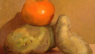 Jeffrey Hayes: Still Life Paintings: Oil Paintings: King of the Hill