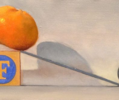 Jeffrey Hayes: Still Life Painting: Oil Painting: Slippery Slope