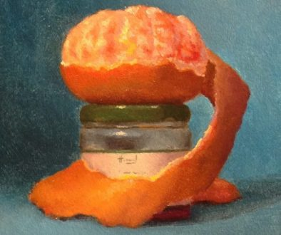 Jeffrey Hayes: Still Life Painting: Oil Painting: Unmasked