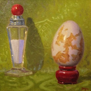 Jeffrey Hayes: Still Life Painting: Oil Painting: Fairy Tale: The Princess and the Ogre