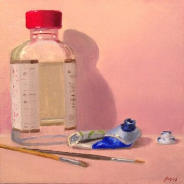 Jeffrey Hayes: Still Life Painting: Oil Painting: Perseverance