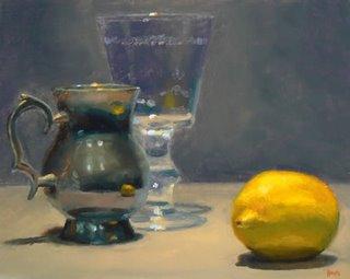 silver_drinking_cup_wineglass_lemon