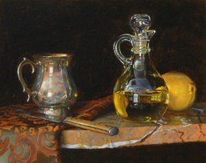 """""""Silver, Knife, Oil, and Lemon"""""""