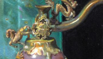 fragment_green_bottle_chinese_pipe