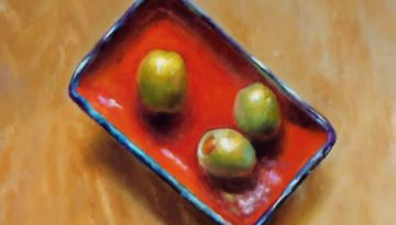 olives_on_a_red_dish