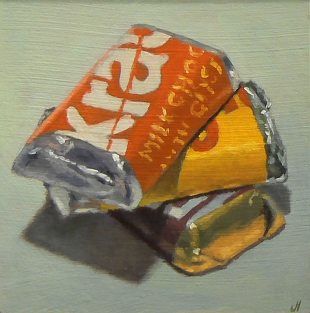 Oil Painting: Sweet Tooth No. 6