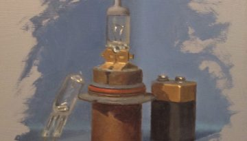 Jeffrey Hayes: Still Life Painting: Oil Painting: Three Random