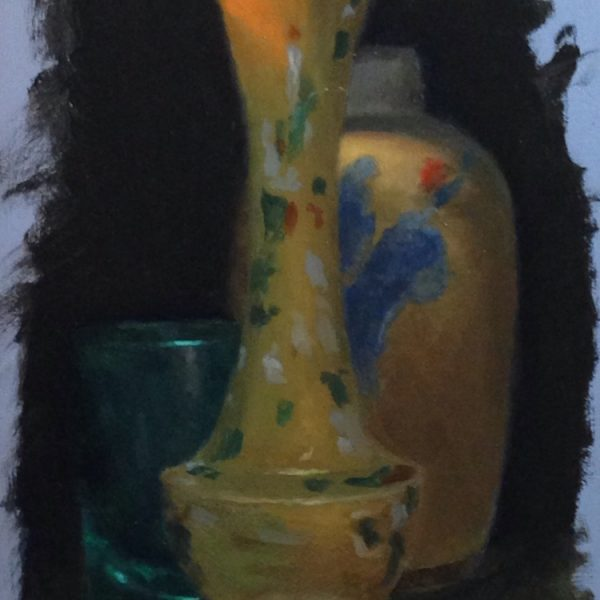 Jeffrey Hayes: Still Life Paintings: Oil Paintings: Three in Shadow