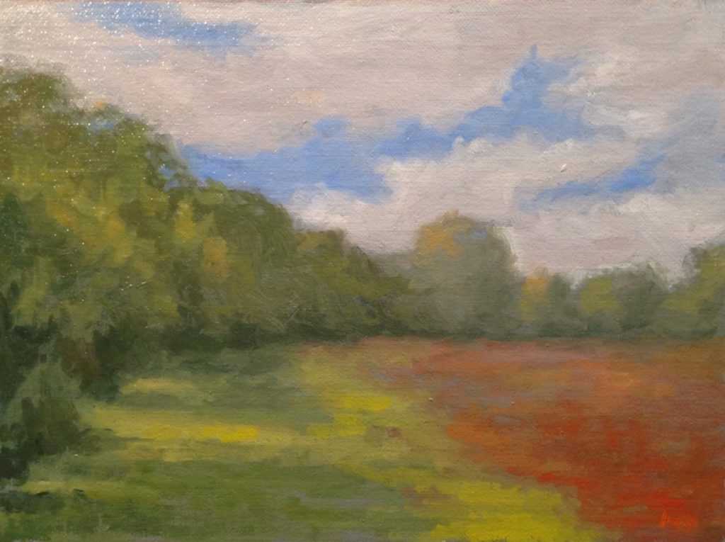 Jeffrey Hayes: Oil Painting: Landscape Painting: Witch Hollow