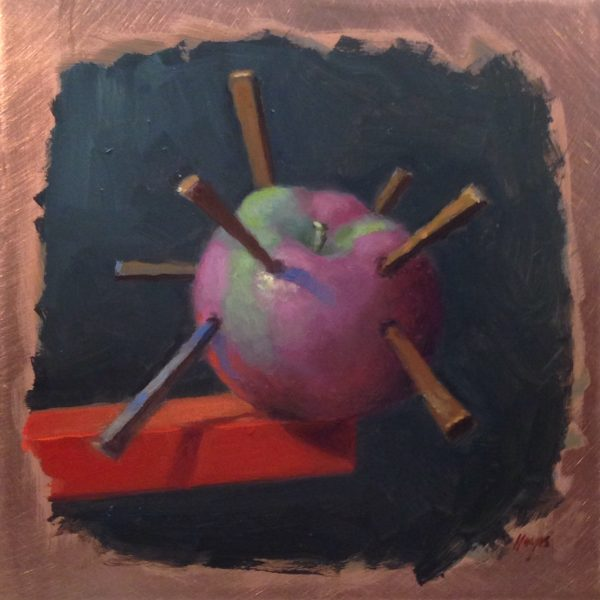 Jeffrey Hayes: Still Life Painting: Oil Painting: Rough Day