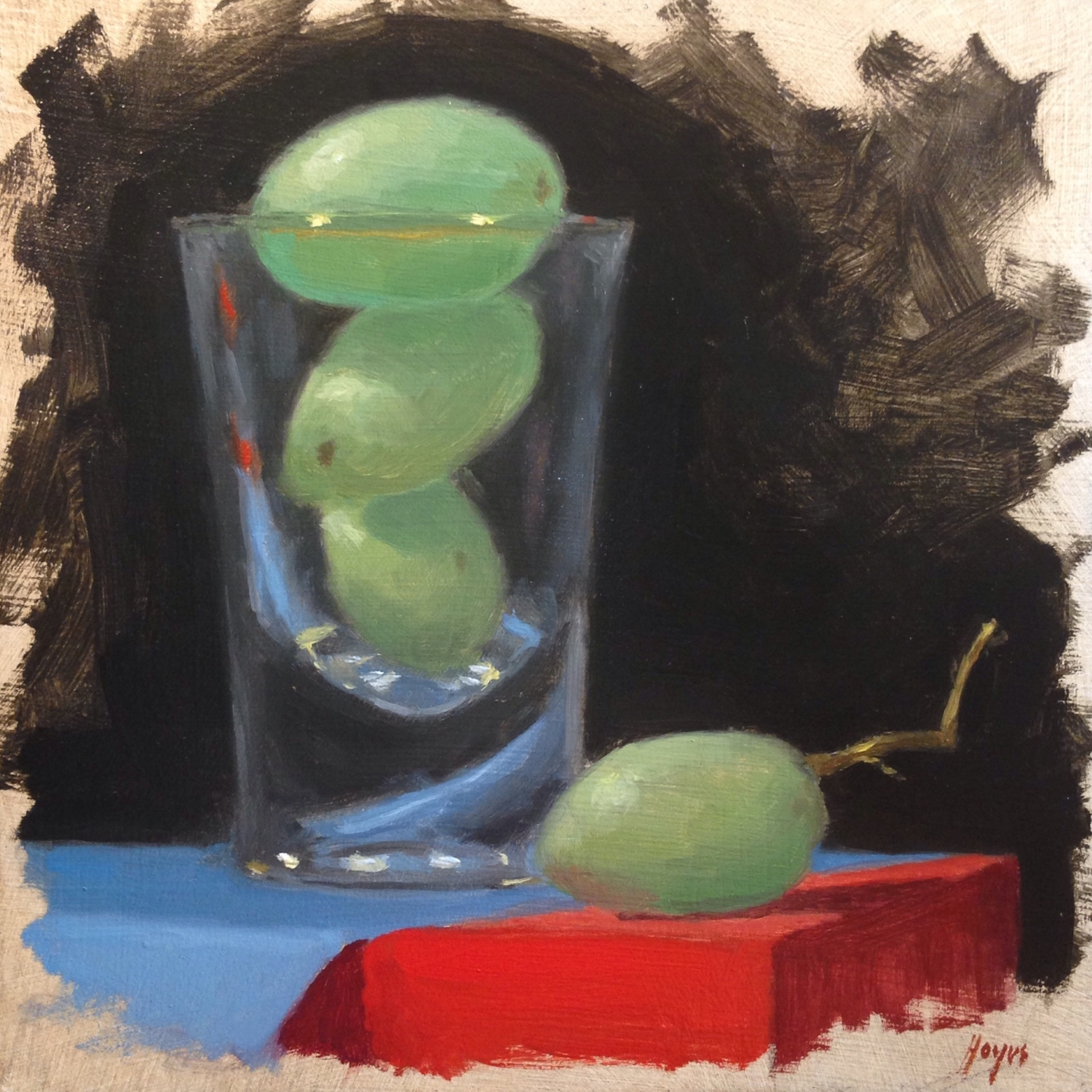 Jeffrey Hayes: Still Life Painting: Oil Painting: Shunned