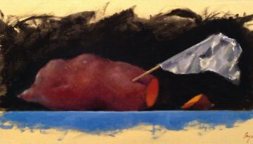 Jeffrey Hayes: Still Life Paintings: Oil Paintings: Freak Flag