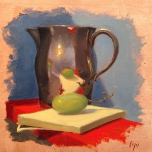 Jeffrey Hayes: Still Life Painting: Oil Painting: Mirror, Mirror...