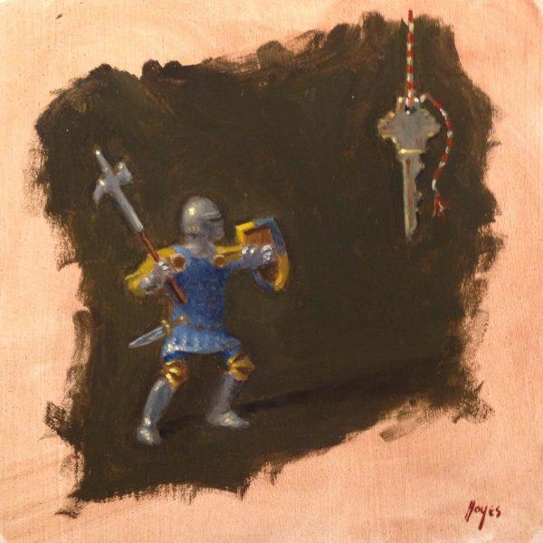 Jeffrey Hayes: Still Life Painting: Oil Painting: U.F.O.