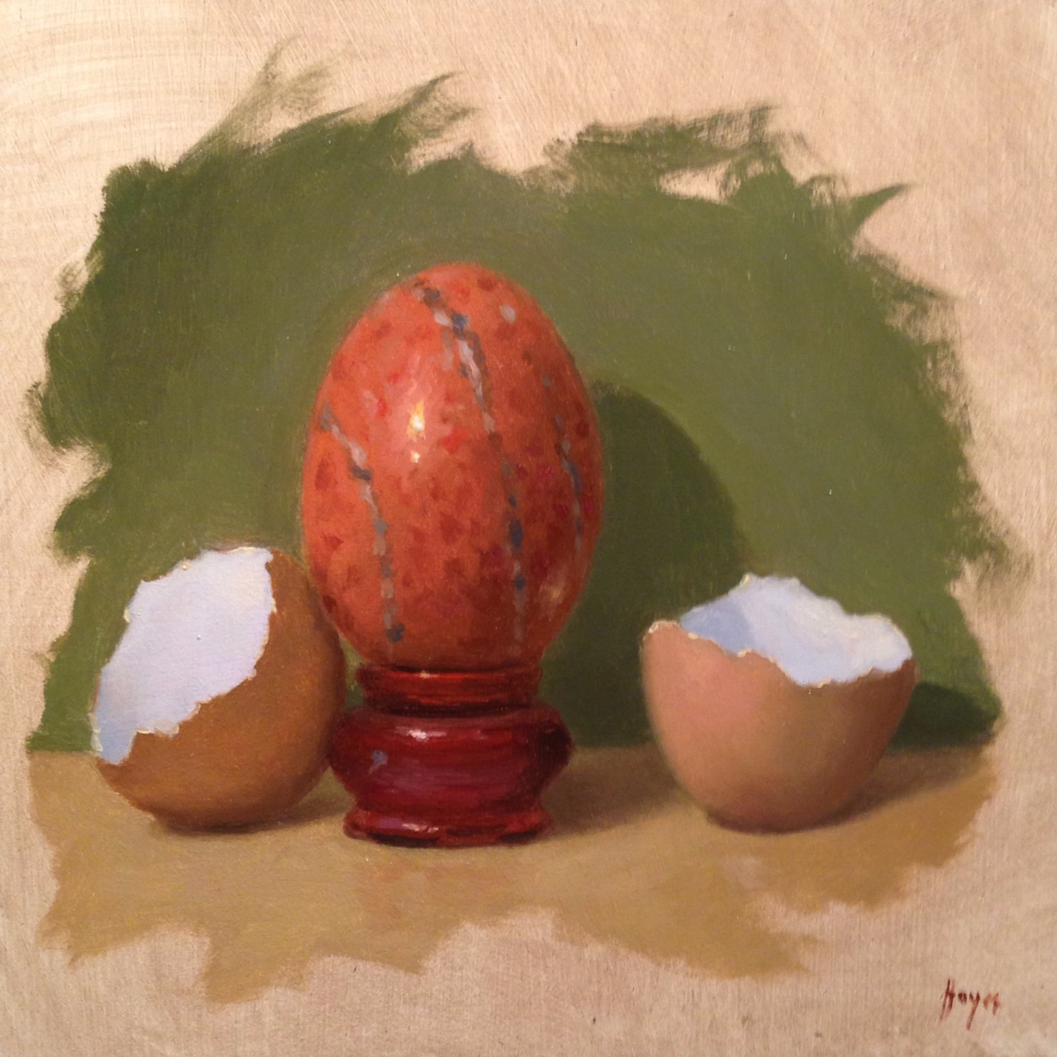 Jeffrey Hayes: Still Life Paintings: Oil Paintings: Birthday