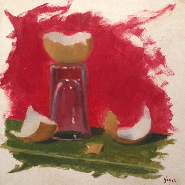 Jeffrey Hayes: Still Life Painting: Oil Painting: Broken