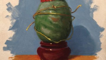 Jeffrey Hayes: Still Life Painting: Oil Painting: Seven Deadly Sins, Pride