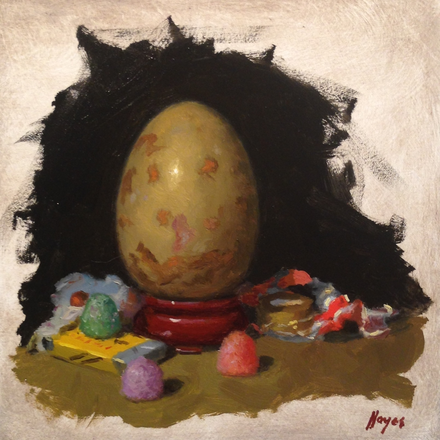 Jeffrey Hayes: Still Life Painting: Oil Painting: Seven Deadly Sins: Gluttony