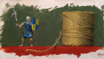 Jeffrey Hayes: Still Life Painting: Oil Painting: Gordian Knot