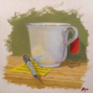 Jeffrey Hayes: Still Life Painting: Oil Painting: Tea Break
