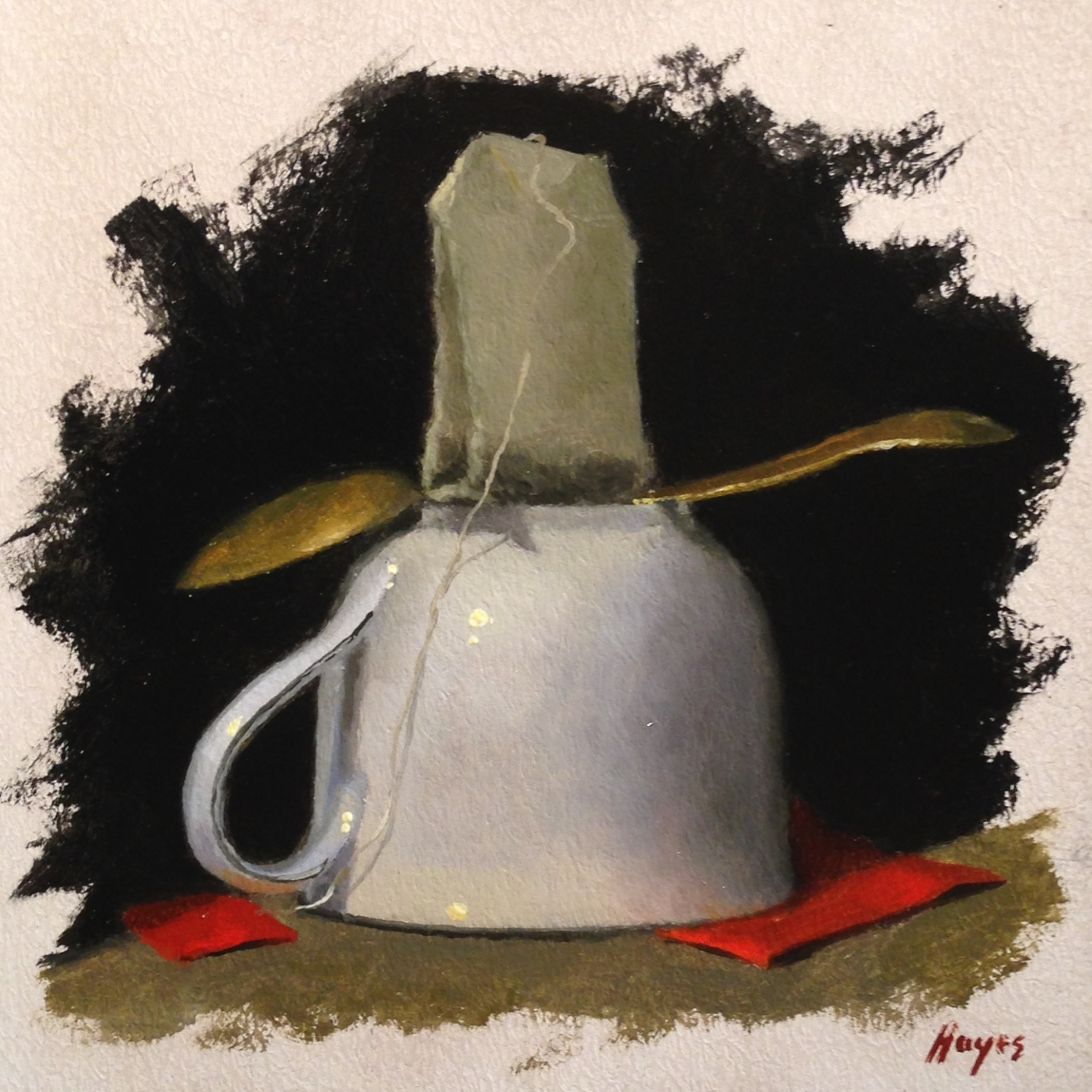 Jeffrey Hayes: Still Life Painting: Oil Painting: On Strike