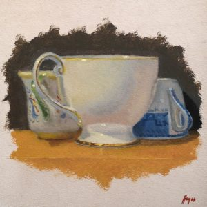 Jeffrey Hayes: Still Life Painting: Oil Painting: Sibling Rivalry