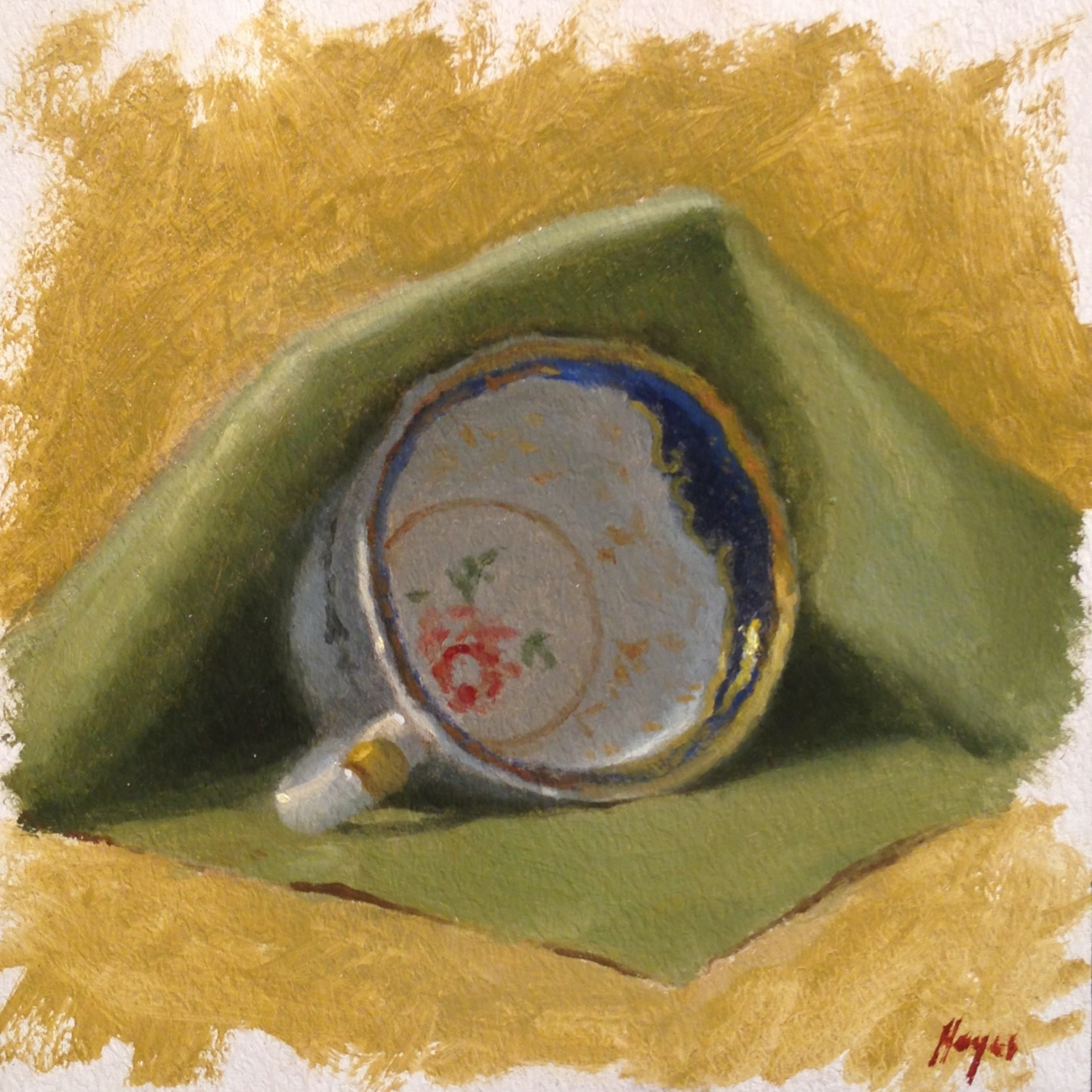 Jeffrey Hayes: Still Life Paintings: Oil Paintings: The Lookout