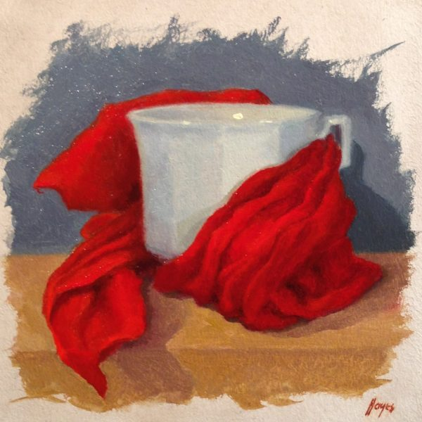 Jeffrey Hayes: Still Life Painting: Oil Painting: Red Riding Hood