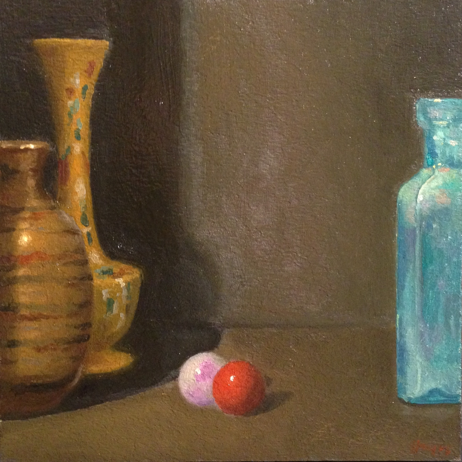 Jeffrey Hayes: Still Life Painting: Oil Painting: Walking With Giants