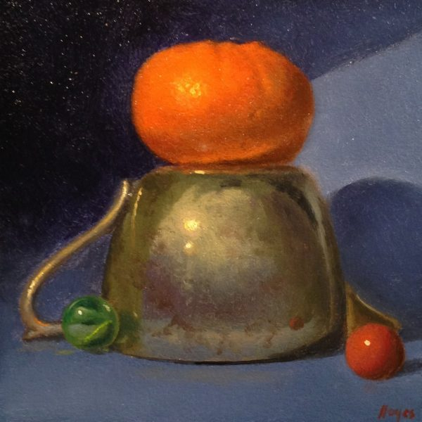 Jeffrey Hayes: Still Life Painting: Oil Painting: Monument