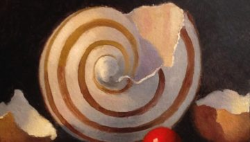 Jeffrey Hayes: Still Life Painting: Oil Painting: Shell Game