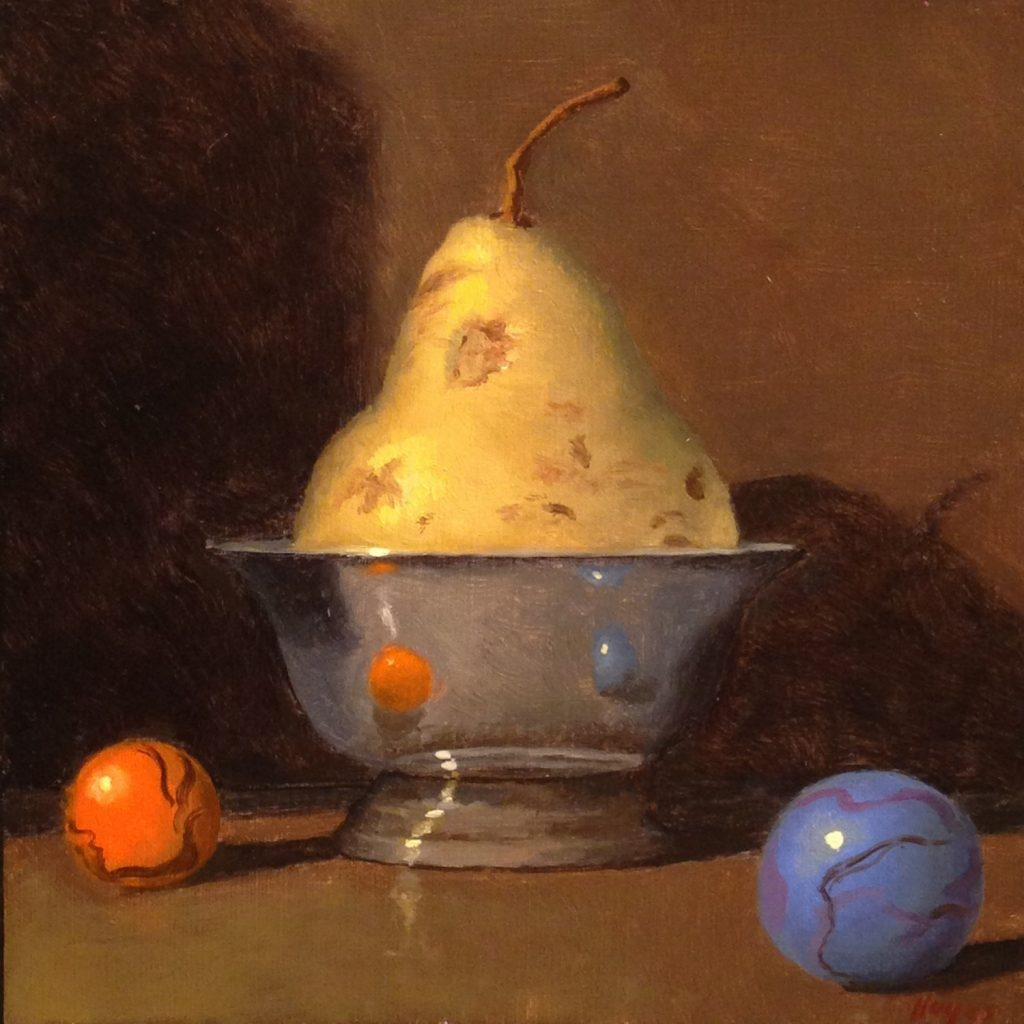 Jeffrey Hayes: Still Life Painting: Oil Painting: Fairy Tale: The Old Man and his Silver Bowl