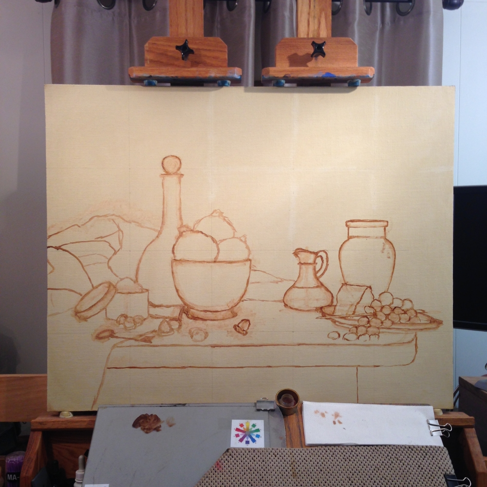 Jeffrey Hayes: Still Life Painting: Oil Painting