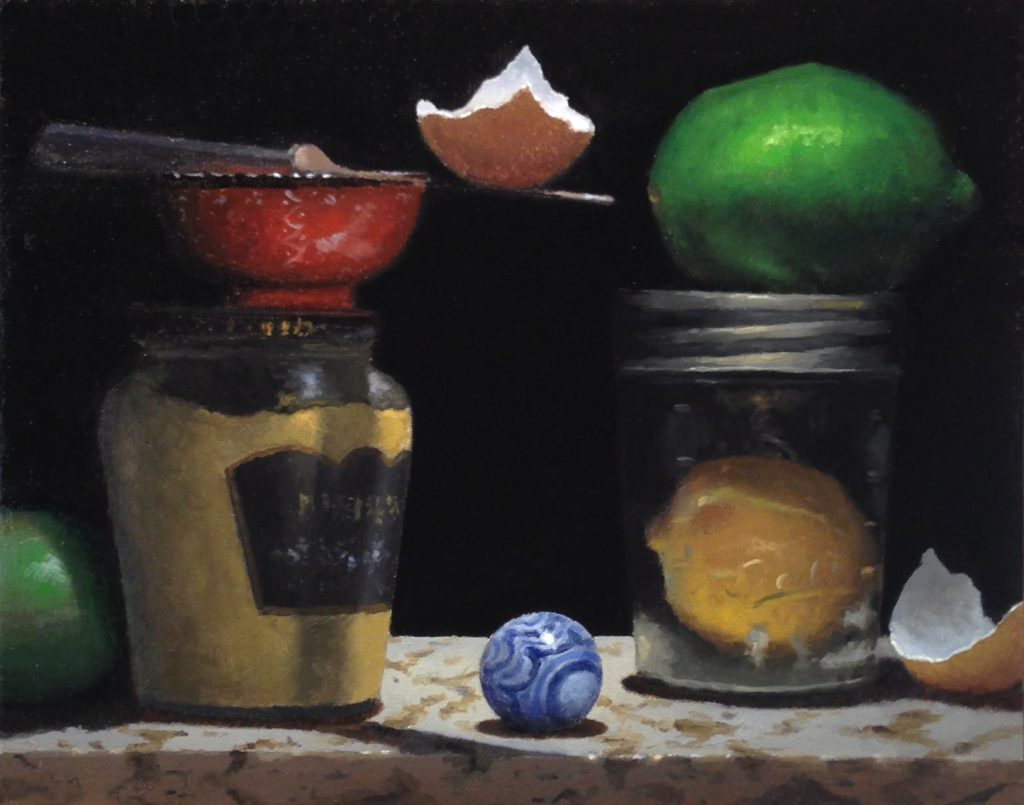 Jeffrey Hayes: Still Life Painting, Oil Painting, The Still Point of the Turning World