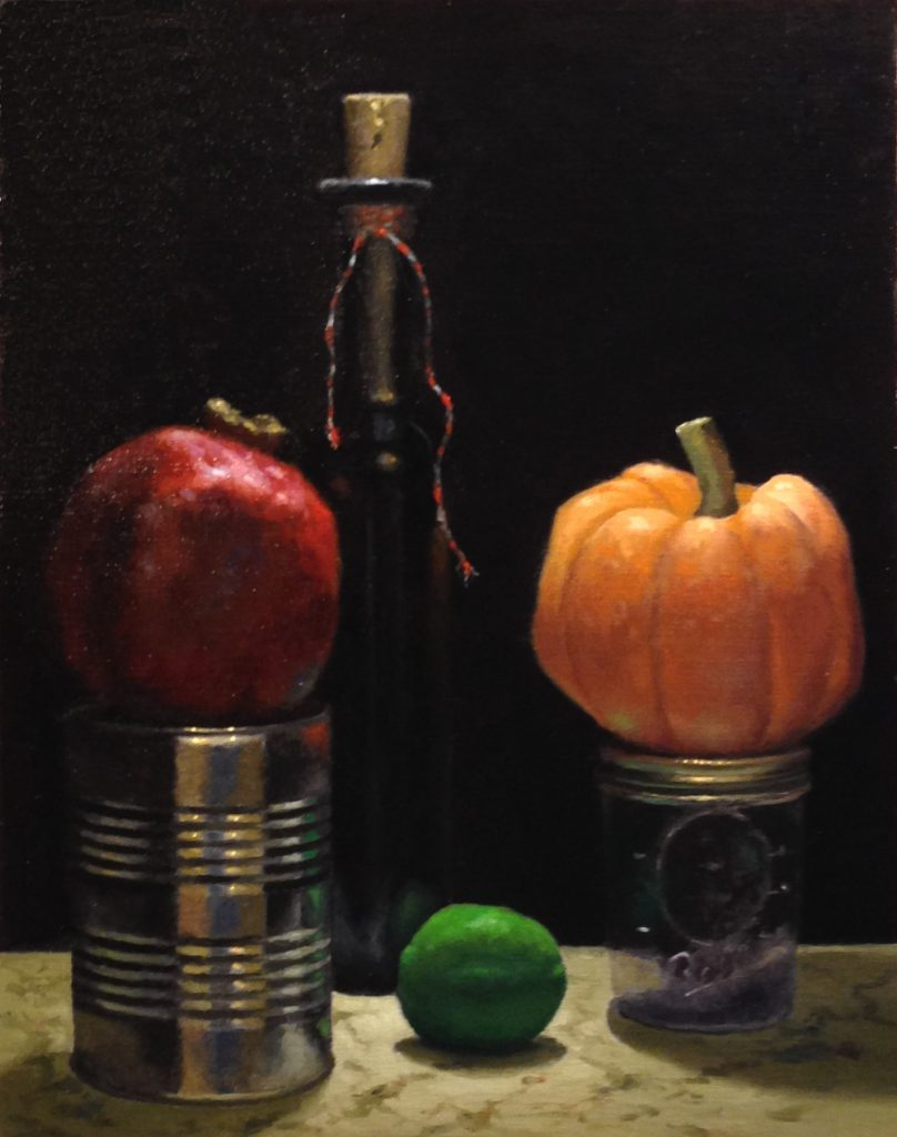 Jeffrey Hayes: Still Life Paintings: Oil Painting: Safe Haven