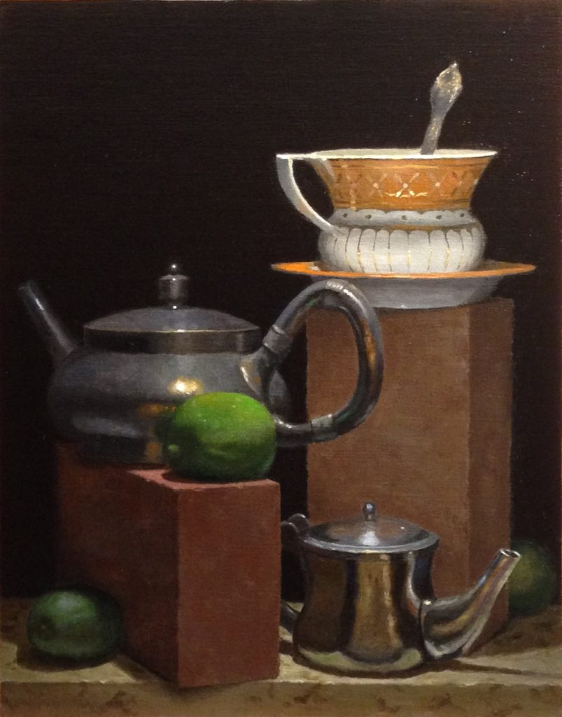 Jeffrey Hayes: Still Life Paintings: Oil Paintings: Your Cup of Tea