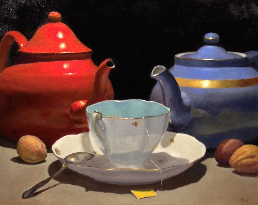 Jeffrey Hayes: Oil Paintings: Still Life Paintings: Unity