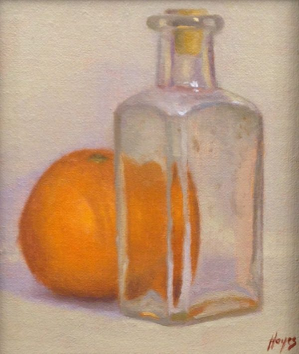 Orange and Ancient Glass