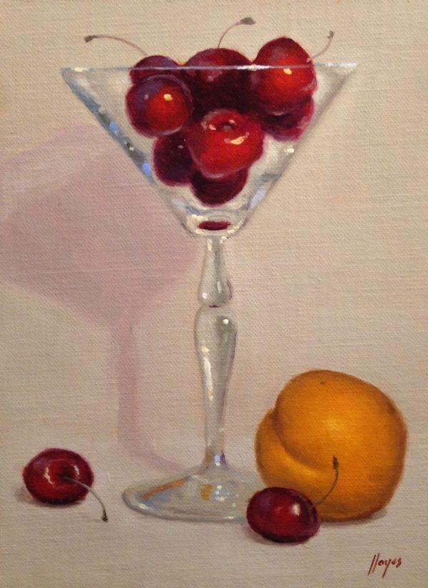 Plum and Cherries