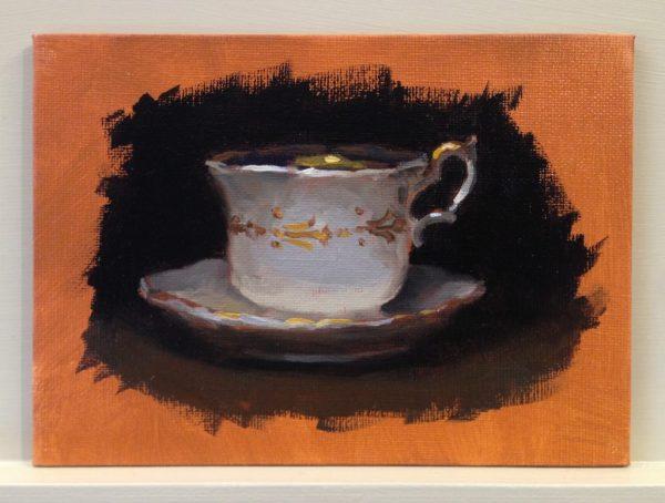 Warm-Up Sketch: Teacup