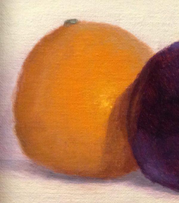 Orange and Plum