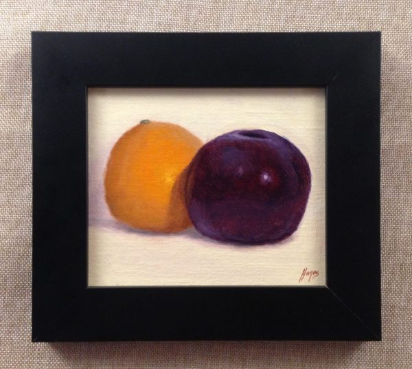 Orange and Plum